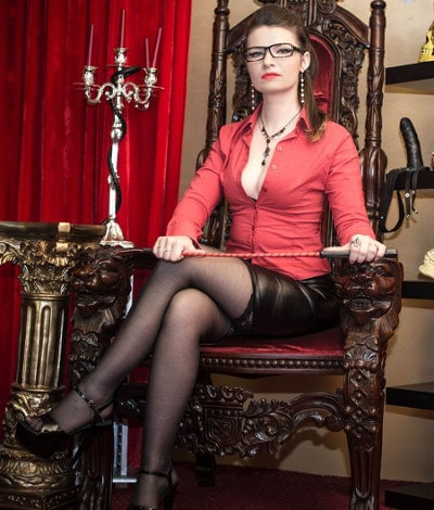 teacher mistress with riding crop
