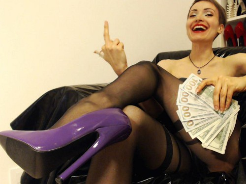 image Financial domination findom femdom goddess