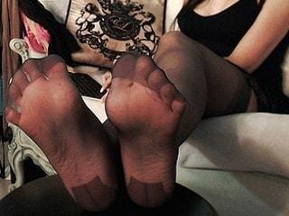 foot fem domme