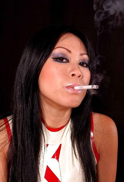 asian smoking
