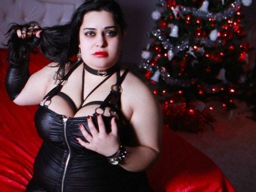 bbw leather mistress femdom