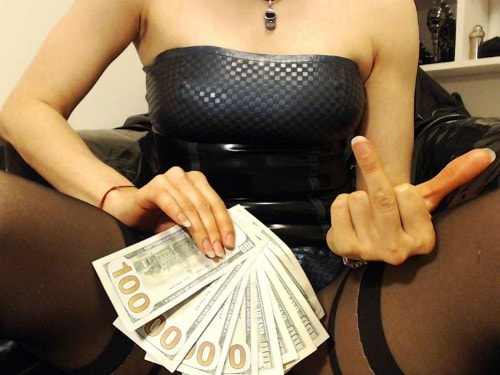 money mistress chat