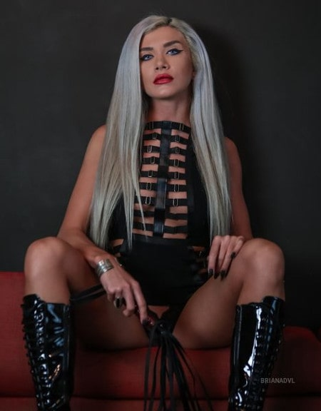 beautiful mistress high top boots